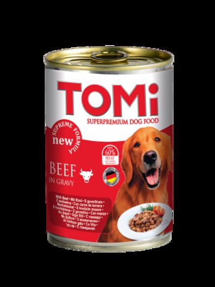 שימור טומי בקר לכלב