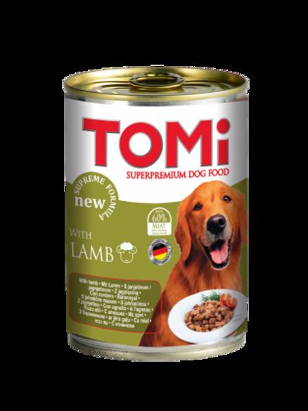שימור טומי כבש לכלב