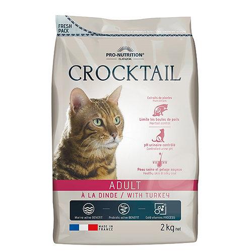 """פלטזור קרוקטל 10 ק""""ג לחתול בוגר"""