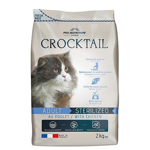 """פלטזור קרוקטל 2 ק""""ג לחתולים מסורסים/מעוקרות"""