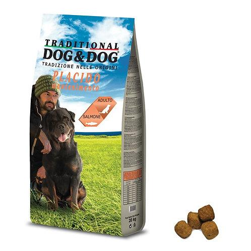 """טרדישנאל דוג 20 ק""""ג מזון לכלבים בטעם סלמון"""