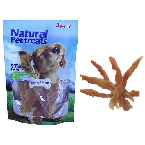 חטיף רצועות פילה עוף לכלבים