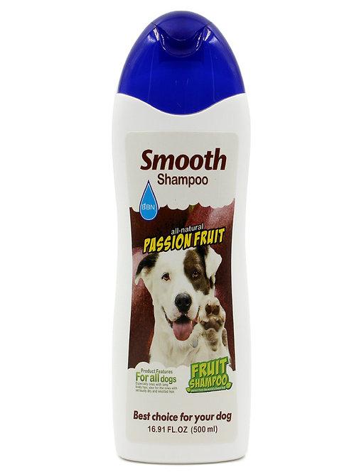 שמפו לכלבים עם פרווה יבשה ו/או קשרים