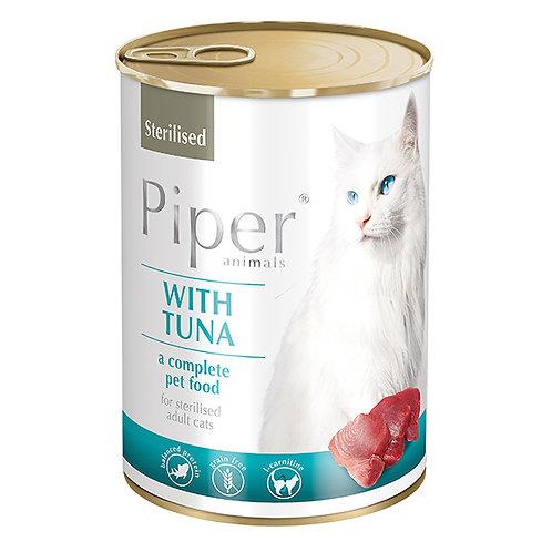 פייפר מזון מלא לחתולים בוגרים מסורסים/מעוקרות