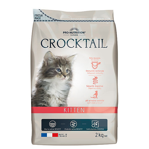 """פלטזור קרוקטל 2 ק""""ג לגורי חתולים"""