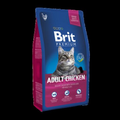 """בריט 1.5 ק""""ג עוף לחתולים בוגרים"""