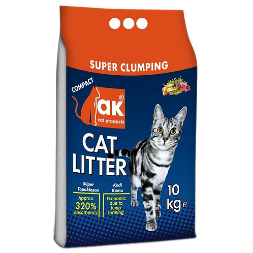חול מתגבש לחתולים בריח בייבי פאודר