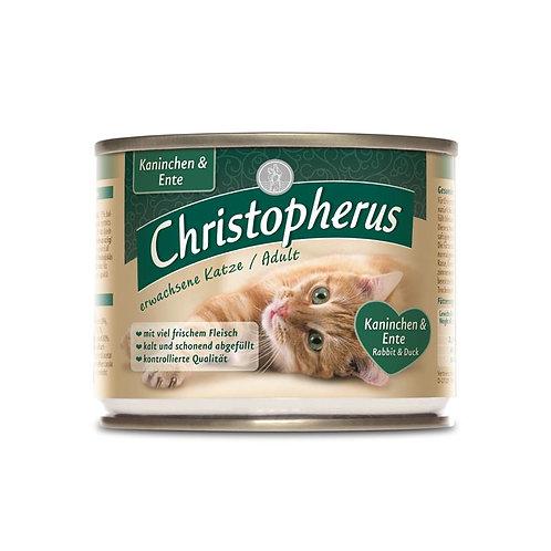 כריסטופרוס מזון מלא לחתולים בוגרים ארנב וברווז