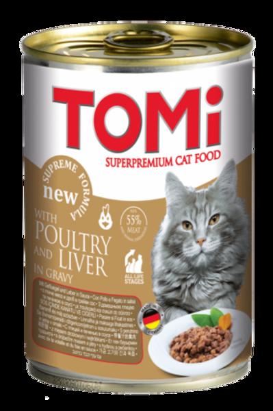 טומי שימור לחתול בטעם עוף 400 גרם