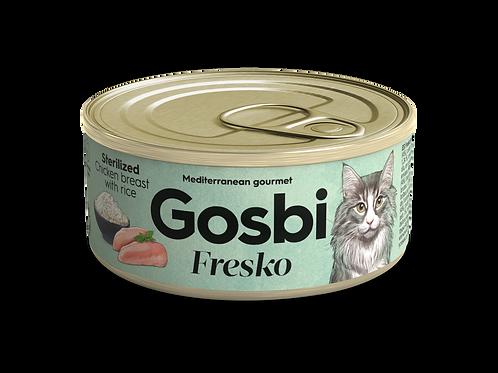 גוסבי פרסקו לחתולים בוגרים עוף ואורז