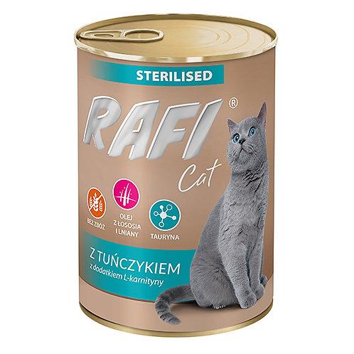 ראפי מזון מלא לחתולים מסורסים/מעוקרות
