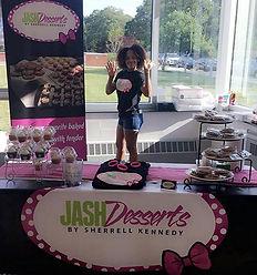 JASH Desserts here enjoying the Destined
