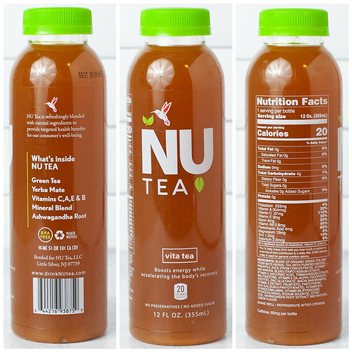 Vita Tea Green Tea & Yerba Mate