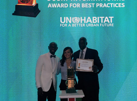 Winner of Dubai International Award