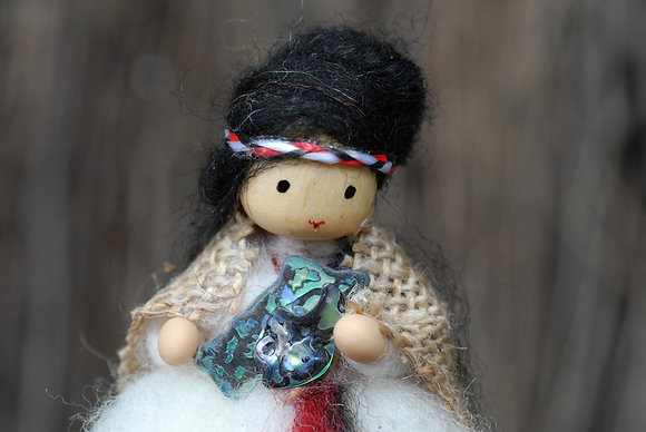 Maori Fairy with Paua