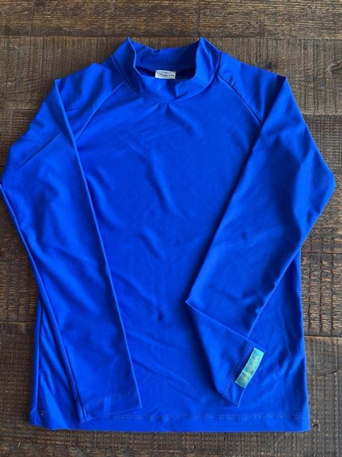 Brilliant Blue long sleeve rashie