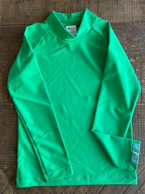 Groovy Green long sleeve rashie