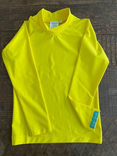 Sunshine Yellow long sleeve rashie