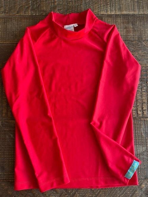 Radical Red long sleeve rashie
