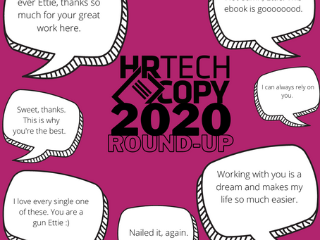 HR Tech Copy: 2020 Project Roundup