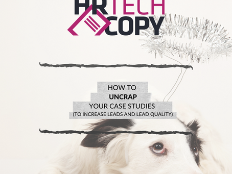 A handful of tips for creating compelling case studies