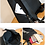 Thumbnail: Genuine leather sequin backpack
