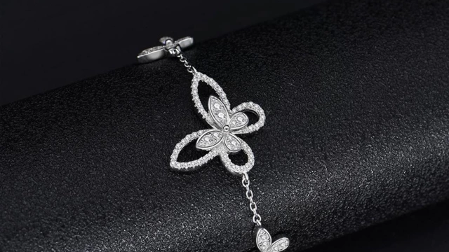 Butterfly design bracelet