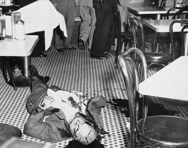 Joe 'The Boss' Masseria lies dead.
