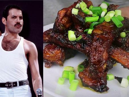 Freddie Mercury's Last Meal of Sticky Ribs