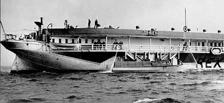 Bugsy Siegel SS Rex Gambling Ship