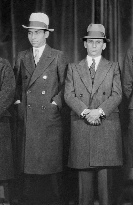 Lucky Luciano & Meyer Lansky