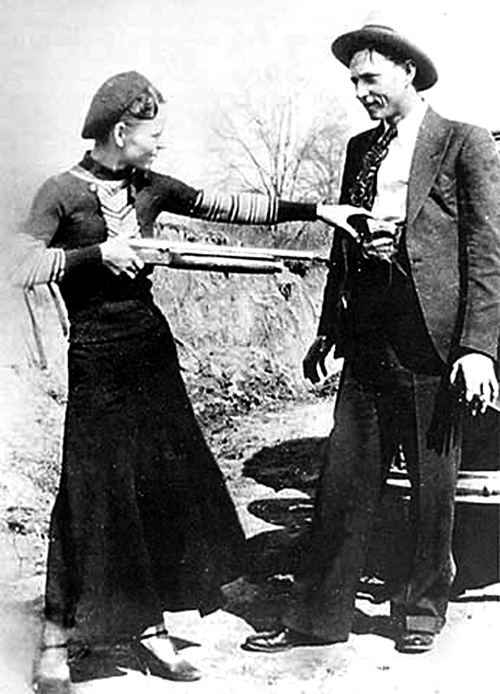Bonnie & Clyde's Last Meal
