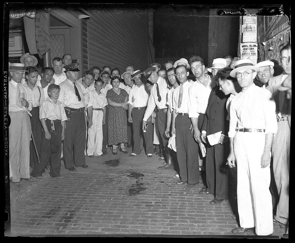 John Dillinger Death Scene