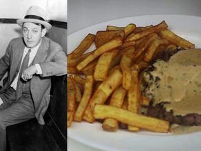 Dutch Schultz's Last Meal of Steak, Fries & Peppercorn Sauce