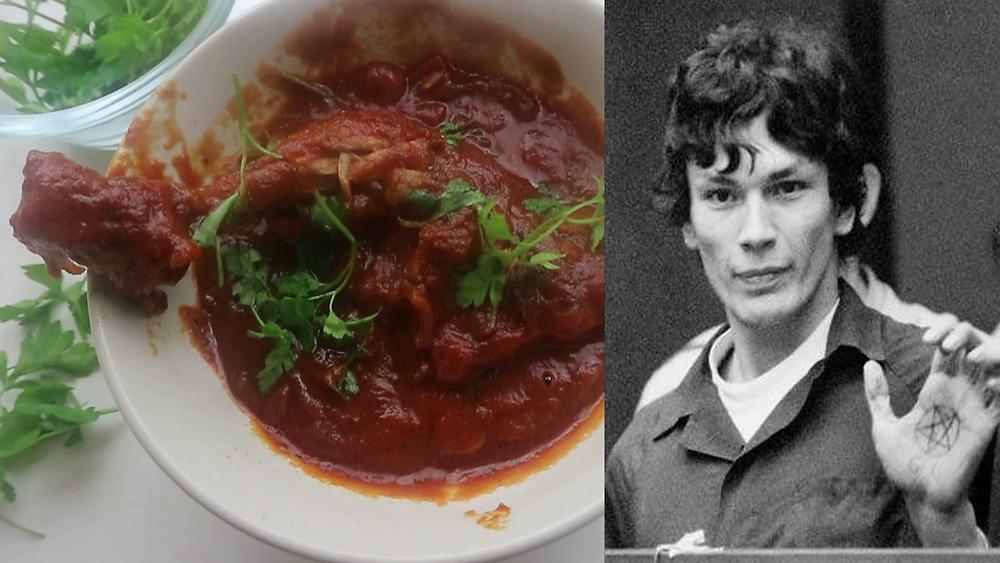 Richard Ramirez's Last Meal of Chicken Cacciatore