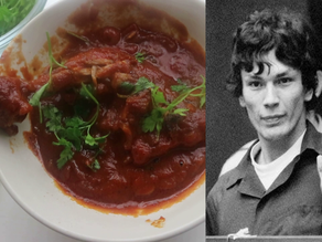 Richard Ramirez (The Night Stalker)'s Last Meal of Chicken Cacciatore   The Last Supper