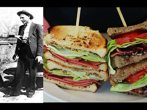 Bonnie & Clyde's Last Meal of a Fried Bologna & a BLT