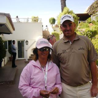 Con Tomas Byork en Open de Andalucia 2008