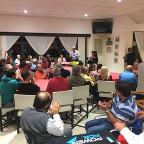 CLINICA DE PSICOLOGIA DEPORTIVA PARA LA FEDERACION REGIONAL DE GOLF DEL SUR, Jockey Club Santa Rosa.