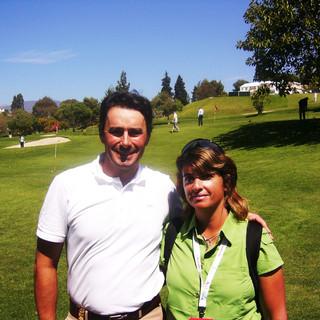 Con Jean Val De Velde en el Open de Andalucia 2008