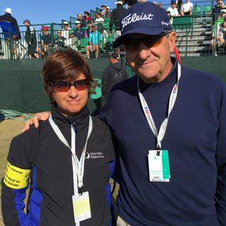 Con Bob Rotella en el US Open 2015