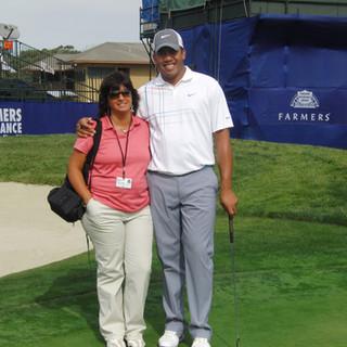 Con Jhonattan Vegas en Torrey Pines