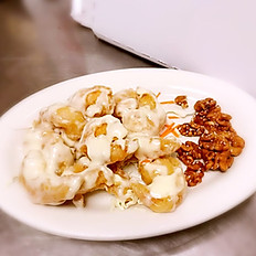 Glazed Honey Walnut Prawns