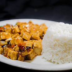 Tofu With Spicy Pork Sauce*