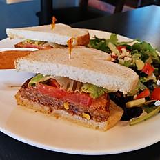 Chipotle Black Bean Sandwich