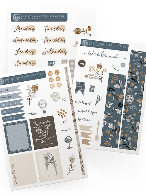 All Things Sticker Set