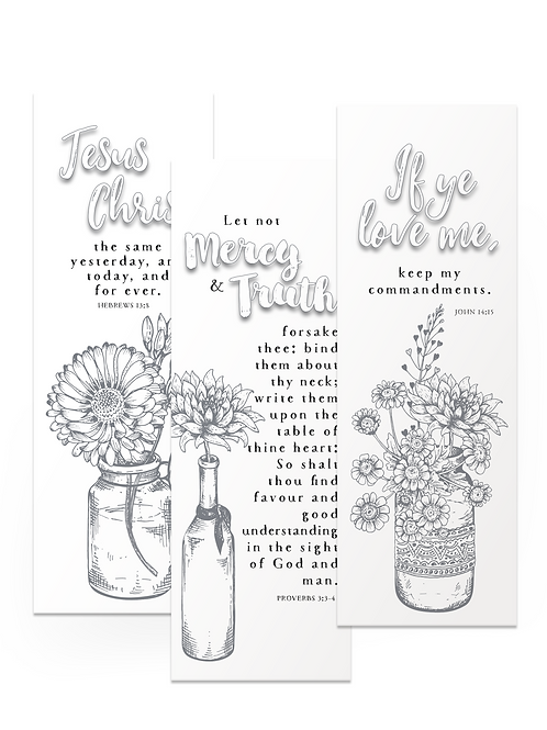 Bookmarks Set One
