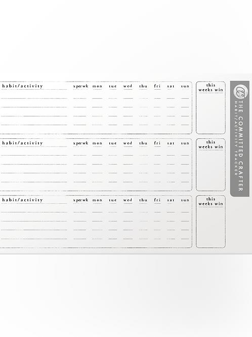 Goal/Habit Tracker Stickers