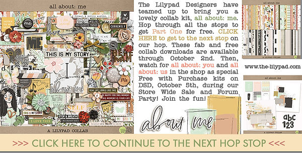 The Lilypad Digital scrapbook Collection, including artistic clipart by New Zealand graphic designer, Vinnie Pearce