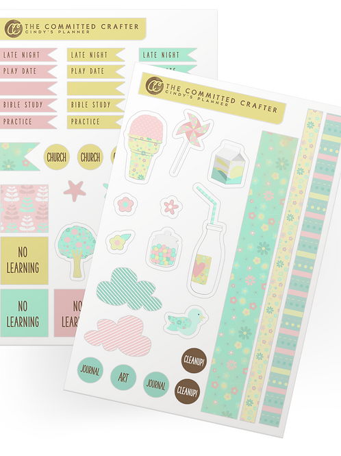 Cindy's Planner Stickers